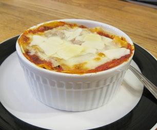 Individual Serving Lasagna