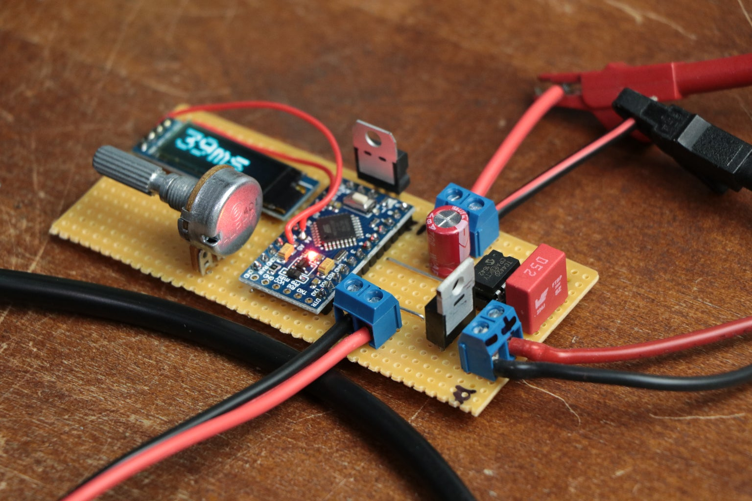 Build the Circuit and Upload the Code!