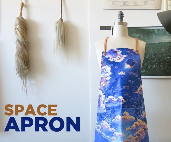 Space Station Shop Apron