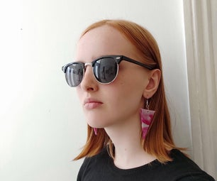 Reclaimed Plastic Earrings