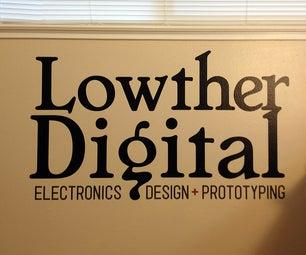 DIY: Personalize Your Workroom   Vinyl Logo Design