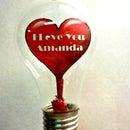 Paper Heart In Light Bulb