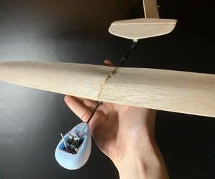 DIY Micro Rc Dlg Glider