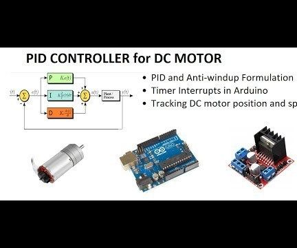 PID CONTROLLER DC MOTOR SPEED TRACKING USING ARDUINO