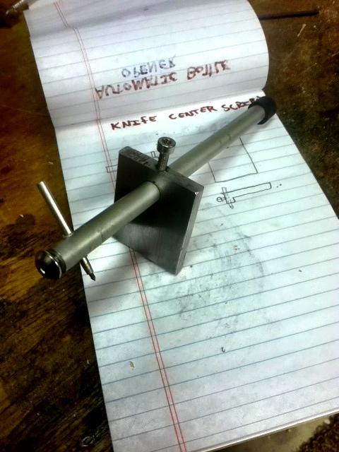 DIY: Carbide line scriber