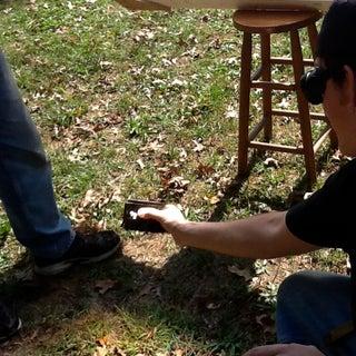 Giant Fresnel Lens Deathray: an Experiment in Optics