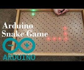 Arduino蛇游戏