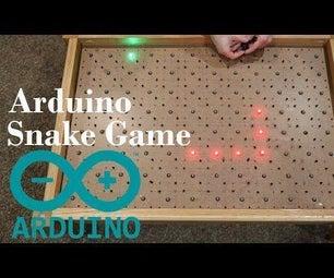Arduino Snake LED游戏