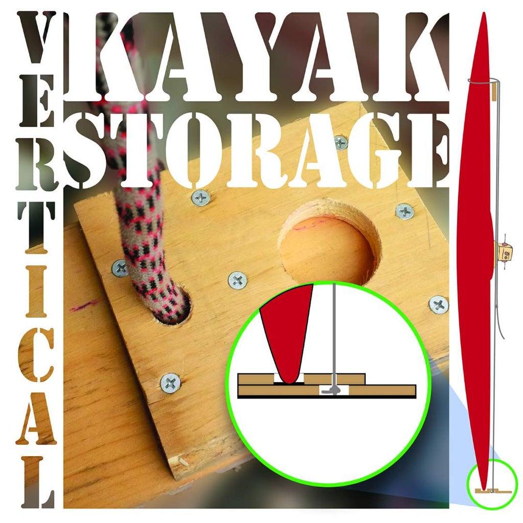 Vertical Kayak Storage