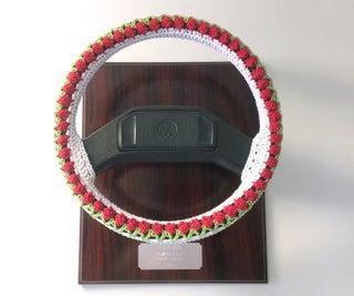 方向盘艺术装置