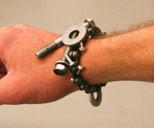 Magnetic Bike Chain Bracelet