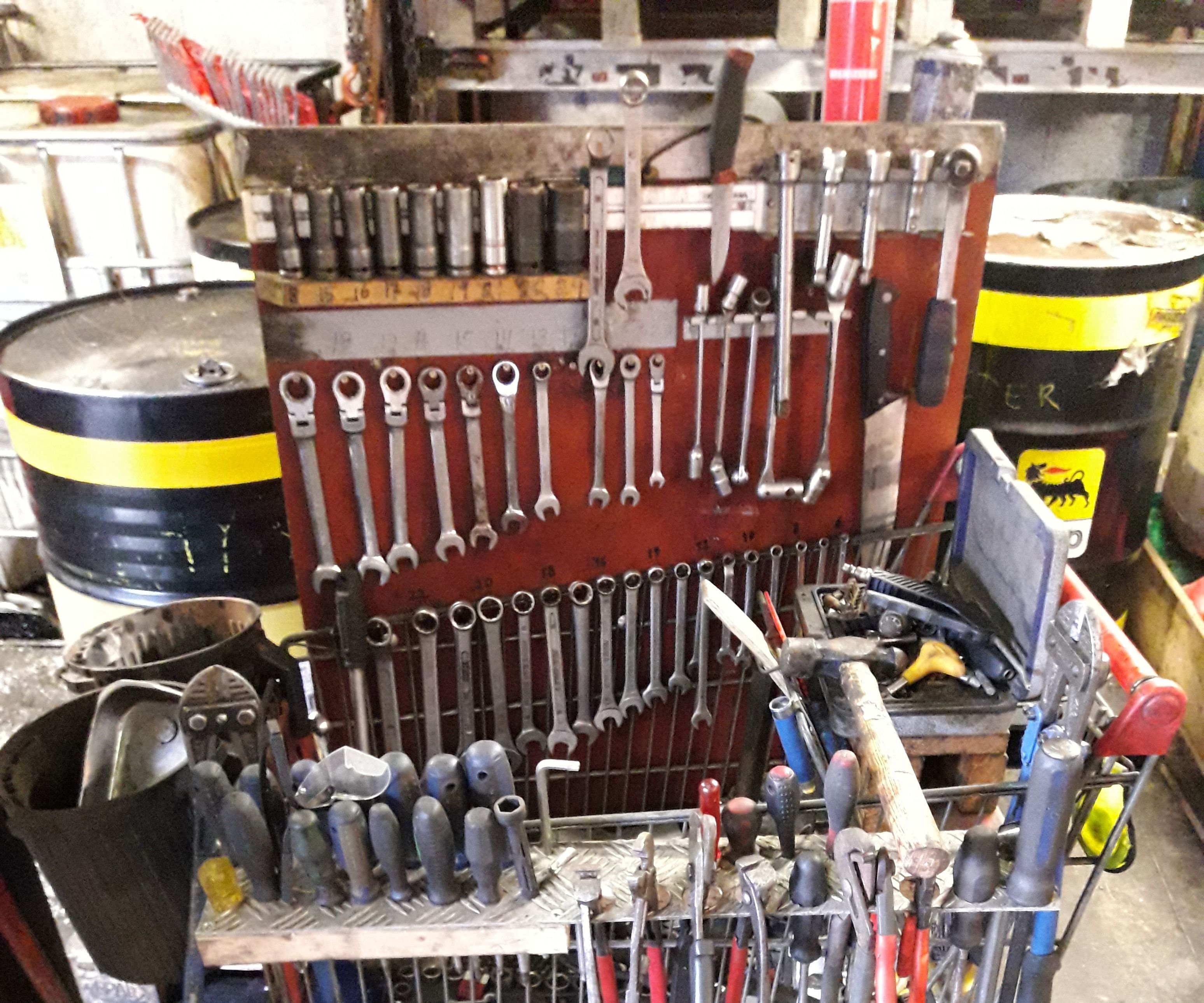Shopping Cart Tools Organizer