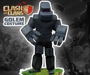 Clash of Clans Golem Costume