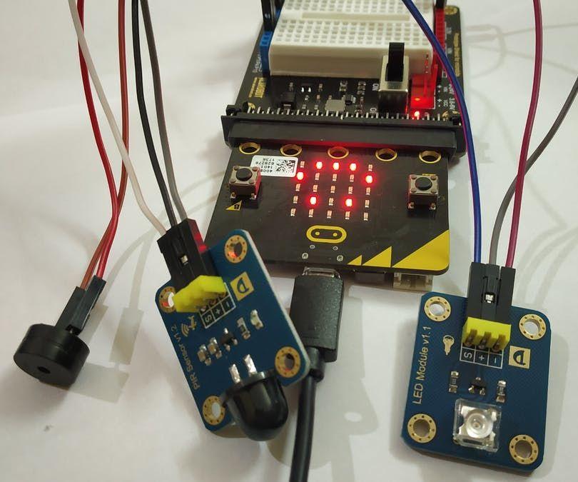 Motion Detector Alarm Using Micro:bit