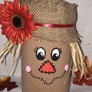 Mason Jar Scarecrow
