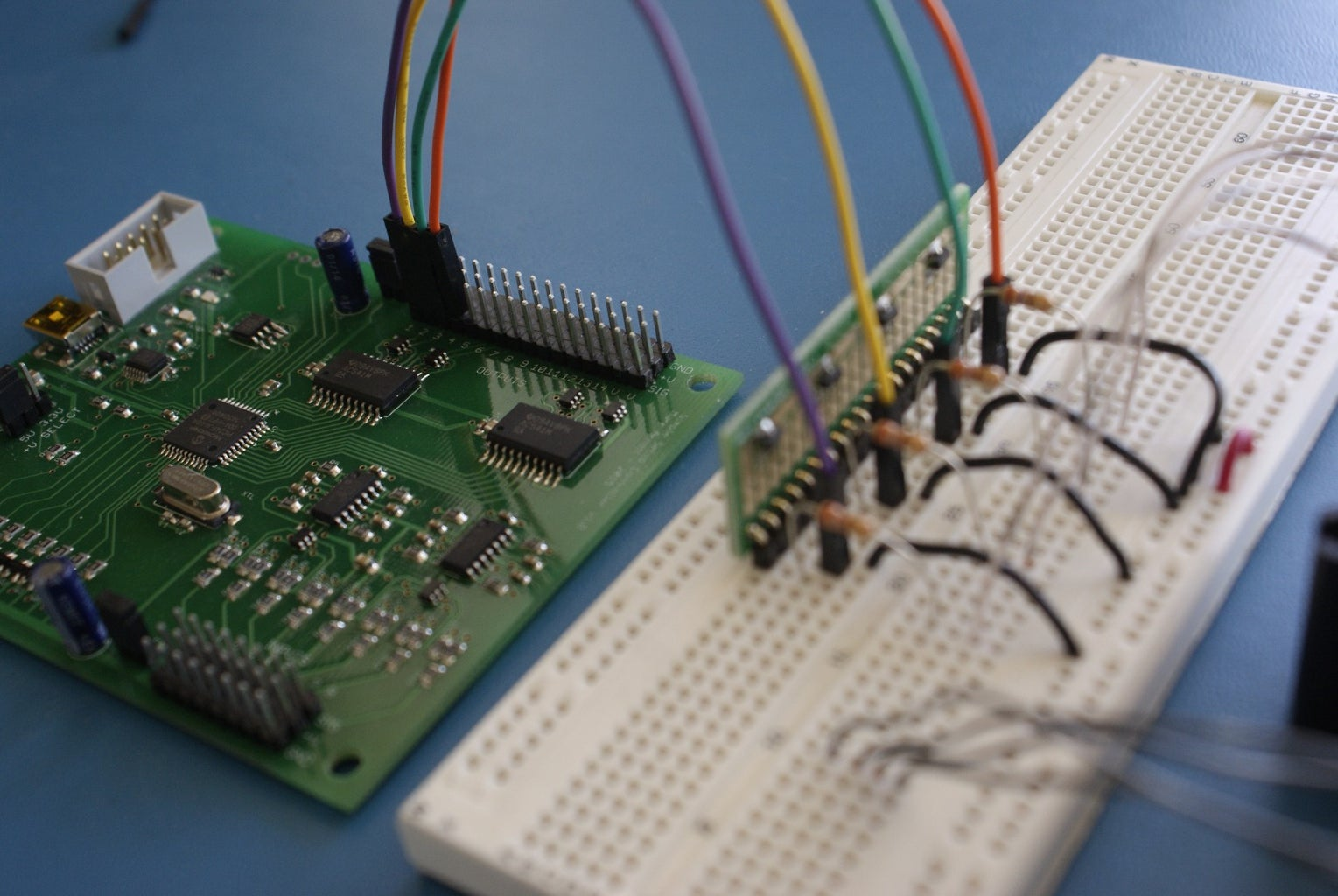 Connect the FETs to the Smart Servo Controller