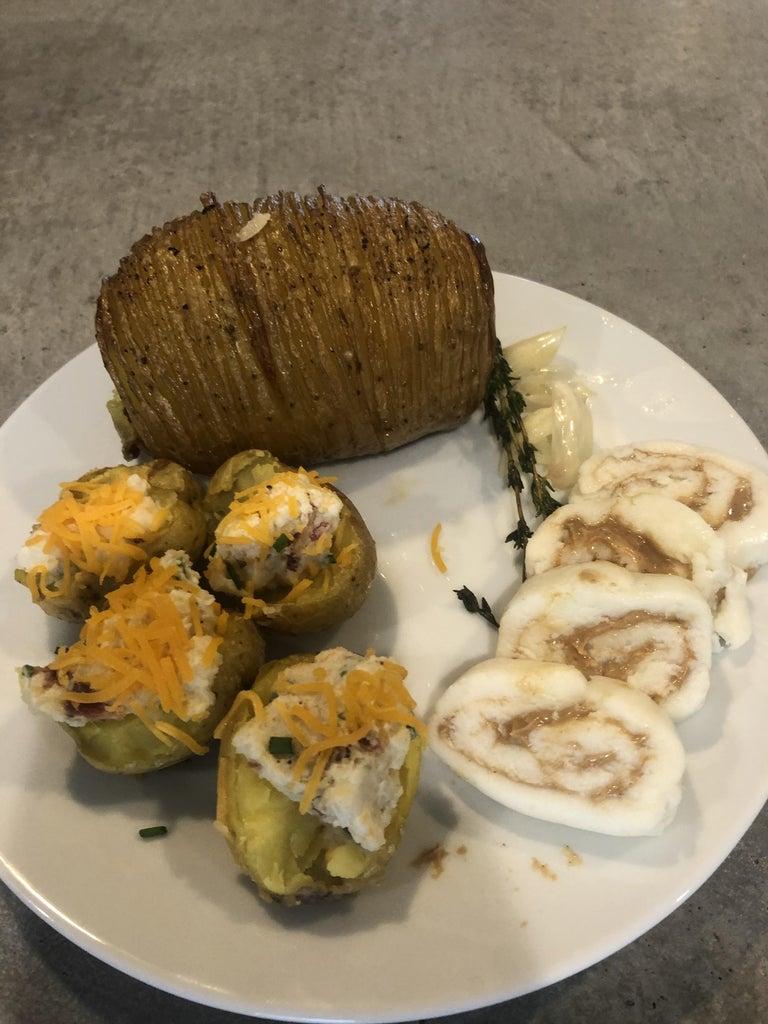 3-Course Potato Meal