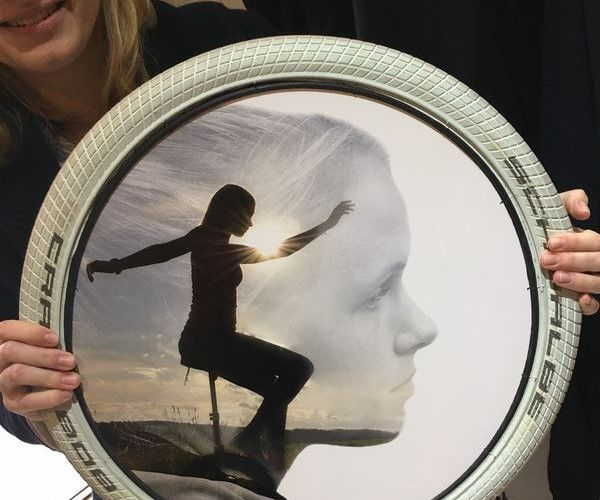 Tire Picture Frame