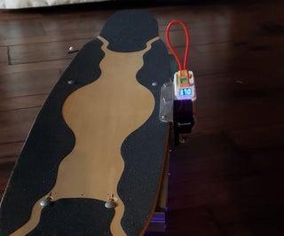 Electric Longboard (CyberBoard)
