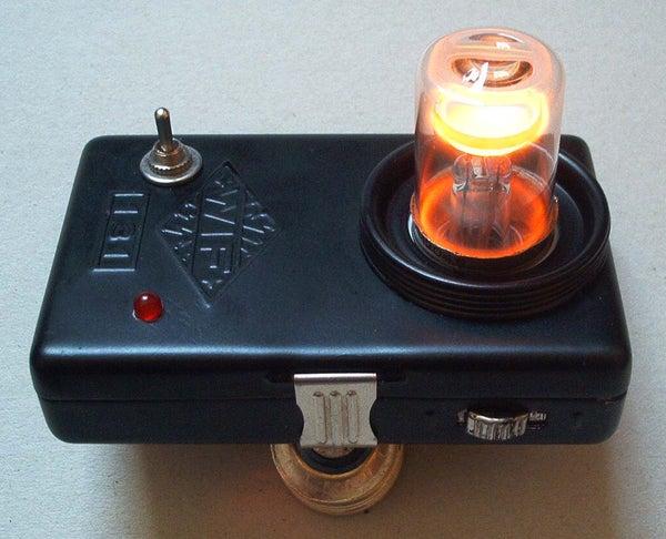 Steampunk Plasmabeam Outdoor Lamp