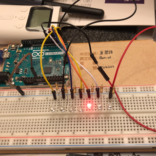 Flowing LED Lights With Arduino Uno R3