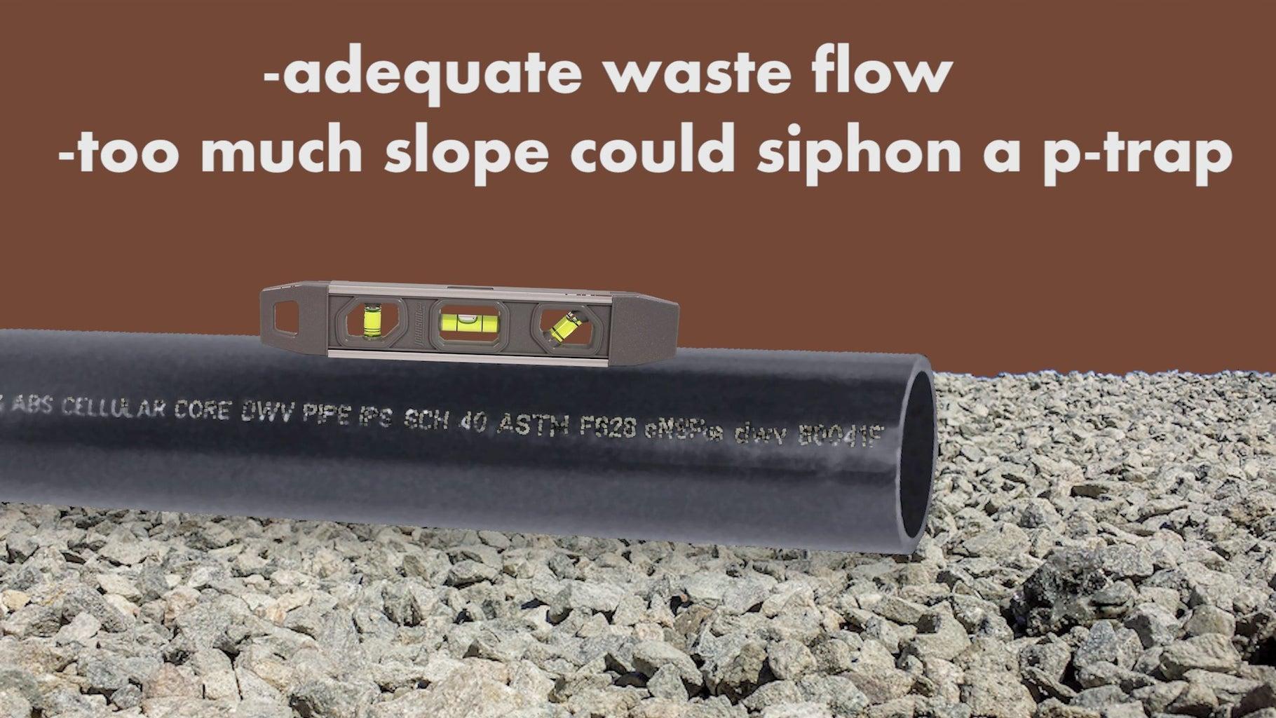 Bad Slope (drain Pipes)