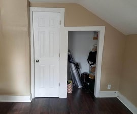 Hidden Bookshelf Door for Closet