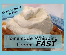 Homemade Whipped Cream FAST: Easiest Hack