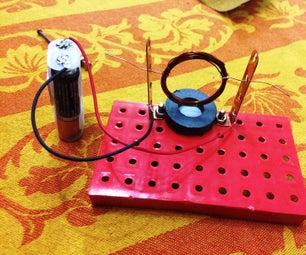 How DC Motor Works? Simple DC Motor