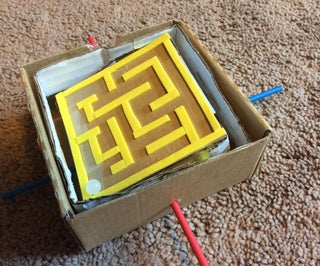 Moving Labyrinth Puzzle