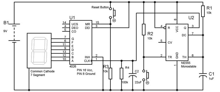 Circuit Diagram & Working