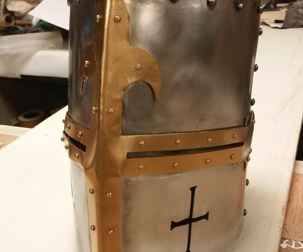Medieval Crusader Great Helm
