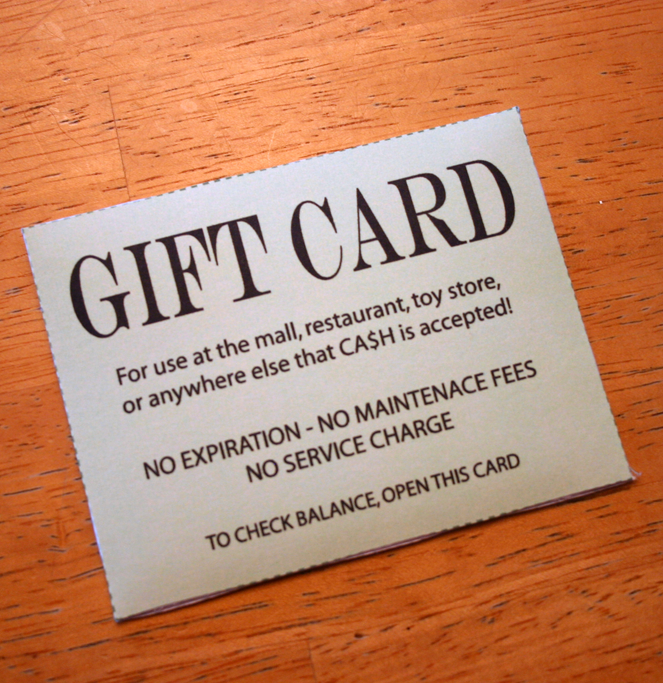 Universal Gift Card
