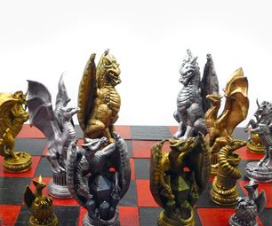 Dragon Chess!: Painting the Dragons