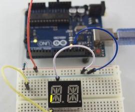 14 Segment 2 Digit LED Display