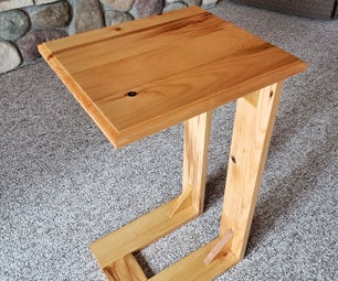 Slide Under End Table
