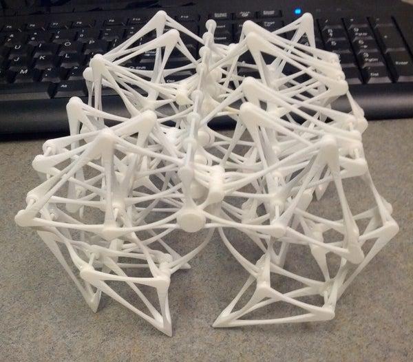 3D Printed Theo Jansen Strandbeest
