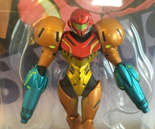Double Arm Cannon Samus Amiibo