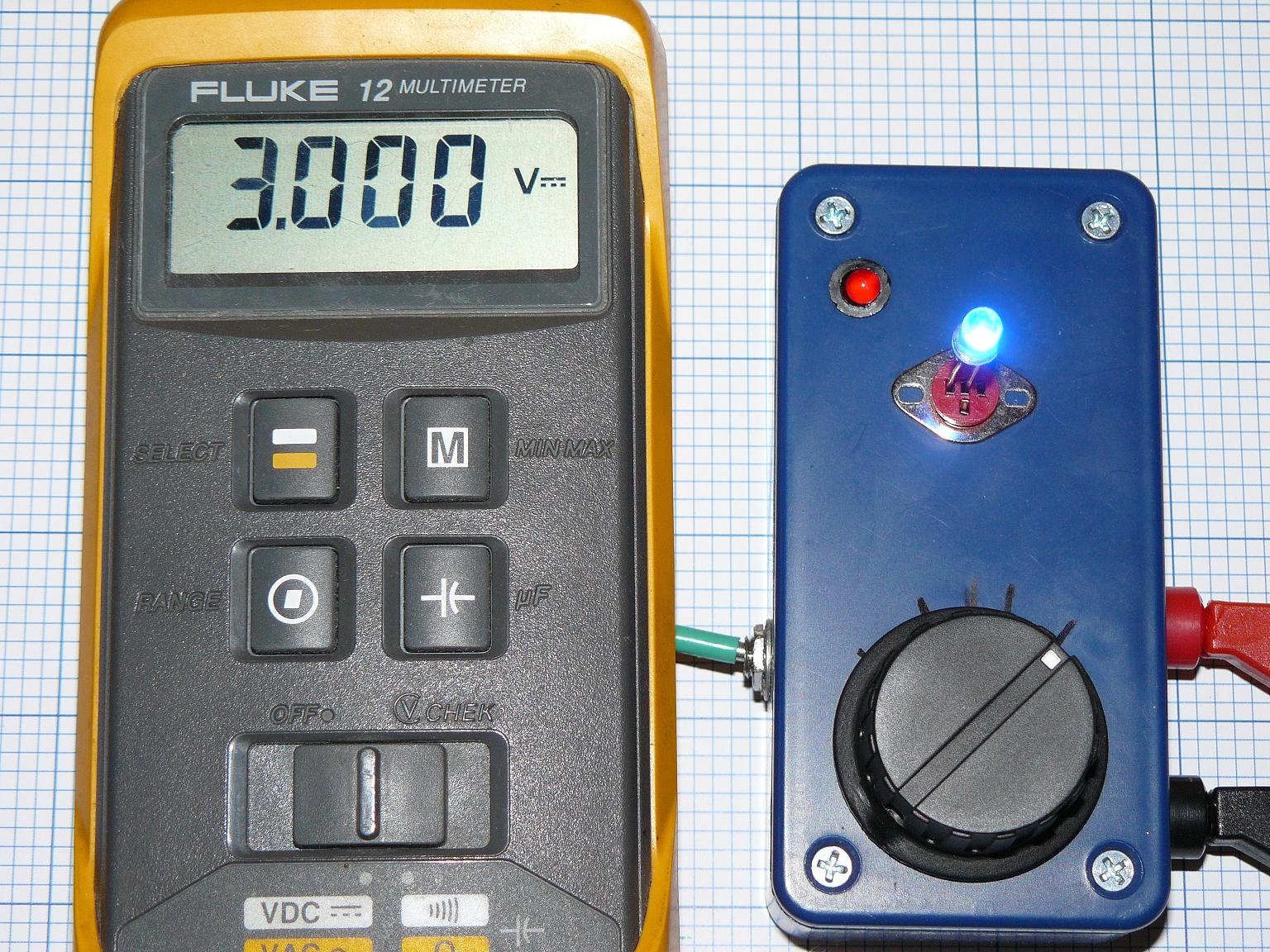 LED tester with adjustable current