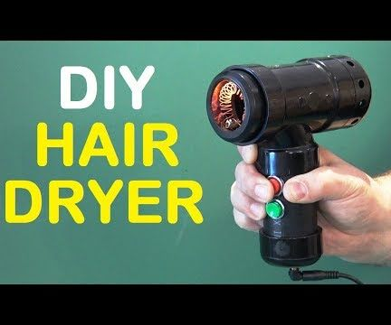 How to Make a Hair Dryer - DIY Homemade Hair Dryer