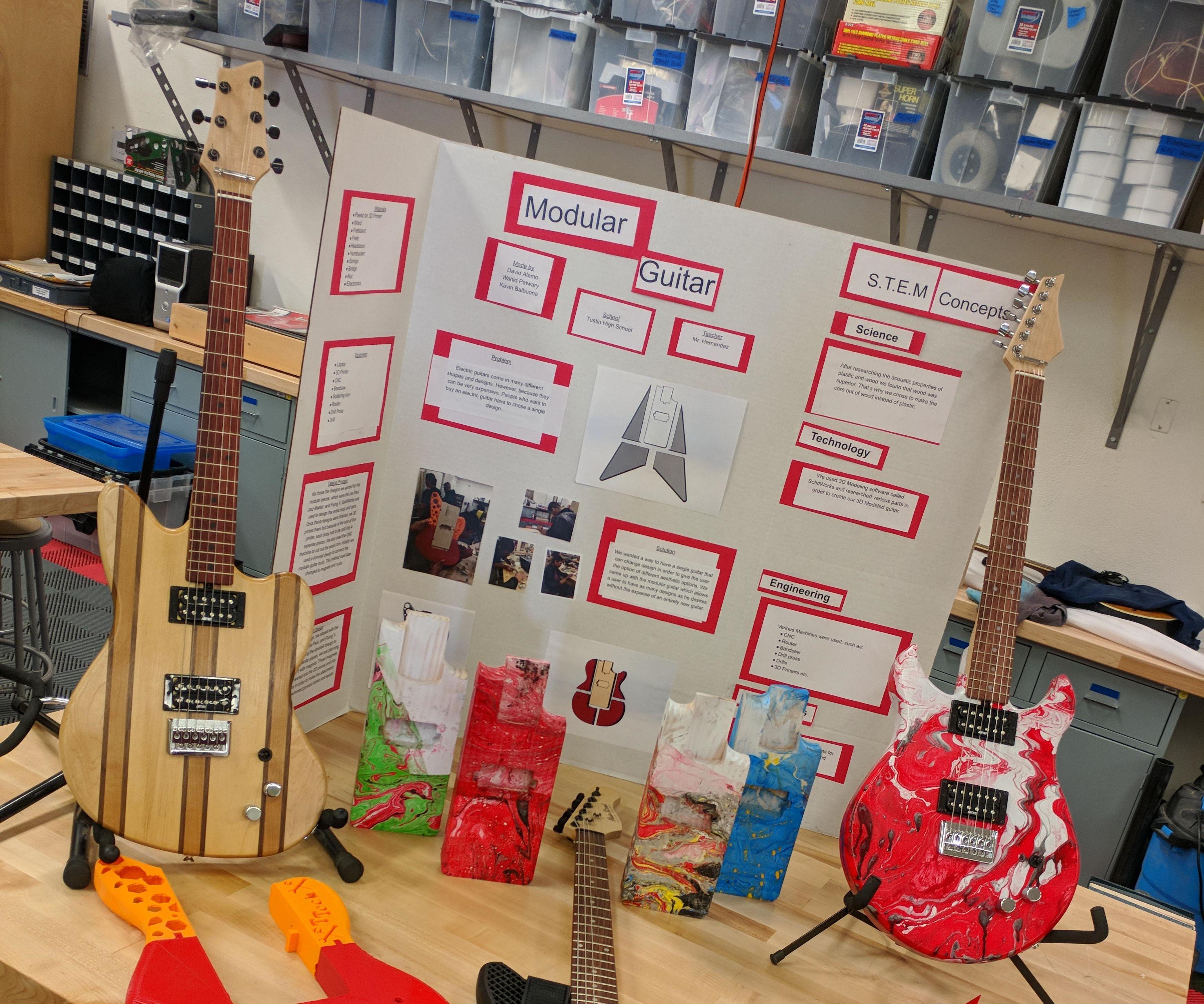 T-Tech Modular Guitar