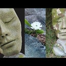 DIY Antique Concrete Heart & Face Sculpture Idea for Garden Decoration| Stone Face  Mask for Lawn.