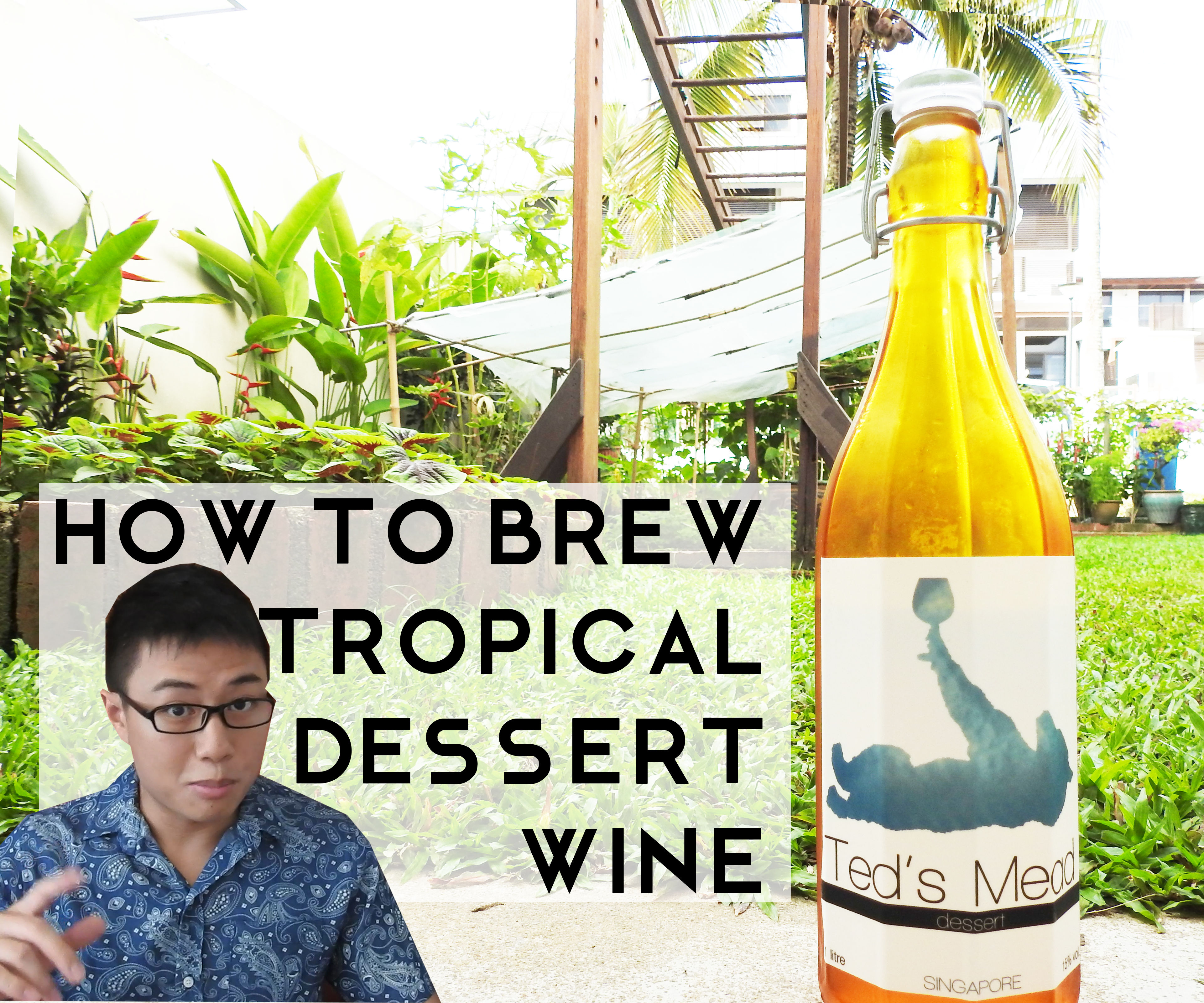 How to Make Tropical Dessert Wine (in Climates Like Singapore!)