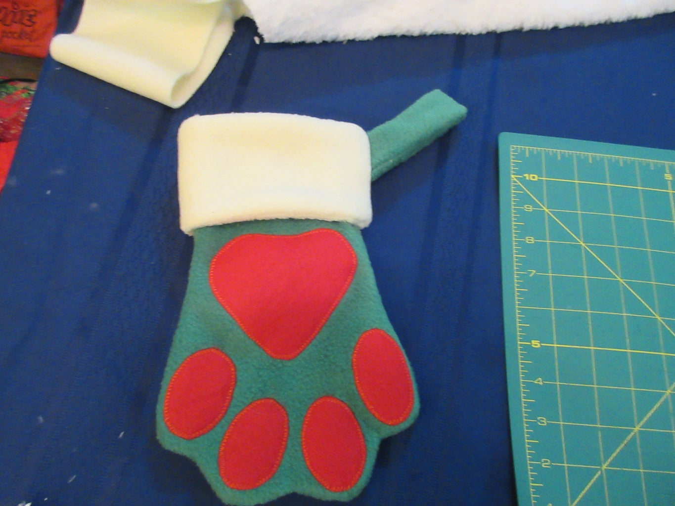 Flip Stocking Right Side Out