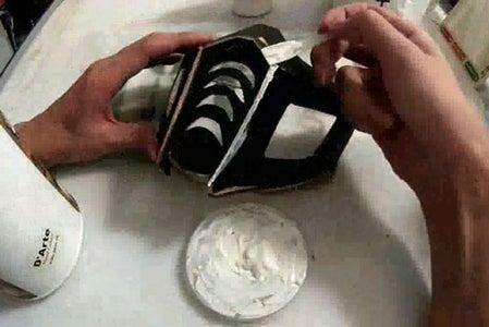 Glue Cardboard & Seal Edges