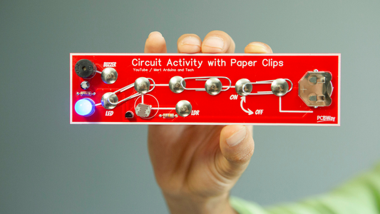 DIY Circuit Activty Board With Paperclips   MAKER   STEM