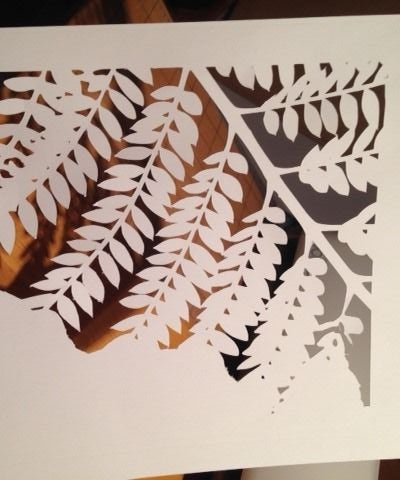 Making a Stencil With the Silhouette Cutter