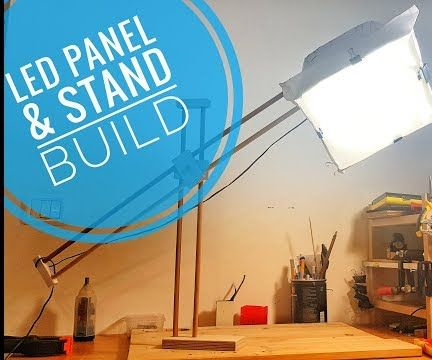 Led Panel With Stand
