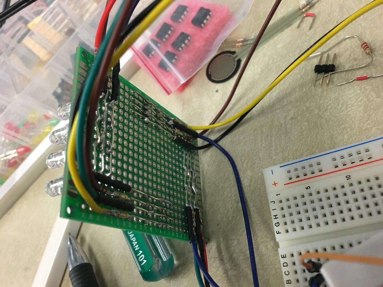 Solder LED's