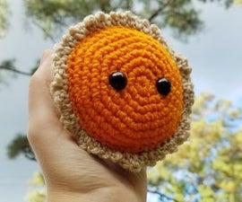 Sweet Pumpkin Pie Crochet Plush